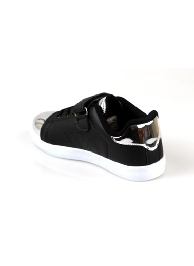 Cool Kız Çocuk(2 Renk) Günlük Spor Ayakkabı Siyah